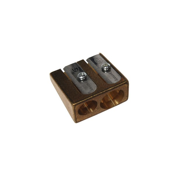 Artists Brass Double Pencil Sharpeners Drawing