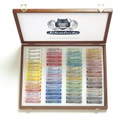 Schmincke Wooden Boxed Set of 60 pastels