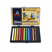 Conte Carre Crayon Set of 12