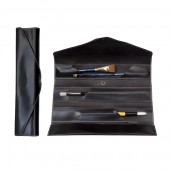 Leather Assortment Brush Case