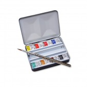 Winsor&Newton Artists Bijou Box 8 Half Pans