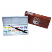 Winsor & Newton Artists Pocket Box 12 Half Pans