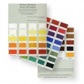Michael Harding Artists Oil Colour Chart