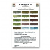 Roberson Bronze Powders Chart