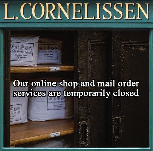 Online shop and mail order services are temporarily closed.