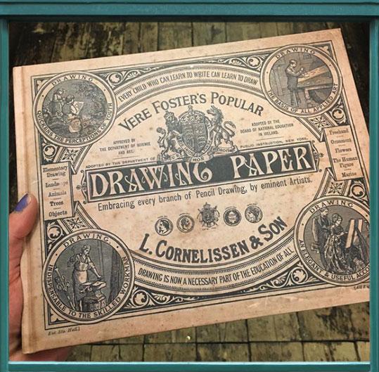 New Bestseller: Hardback Book of Drawing Paper