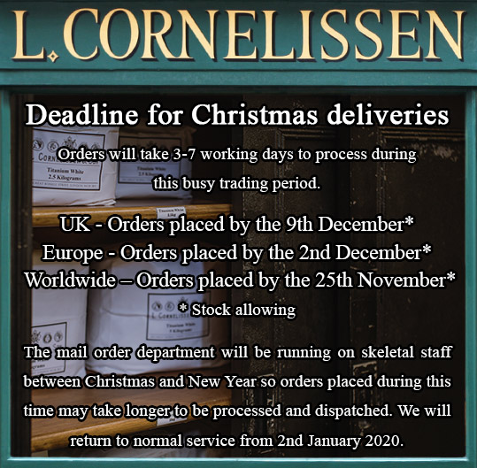 Christmas Posting Deadlines