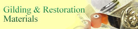 Gilding & Restoration Materials