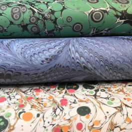 Jemma Lewis Printed Marble Paper