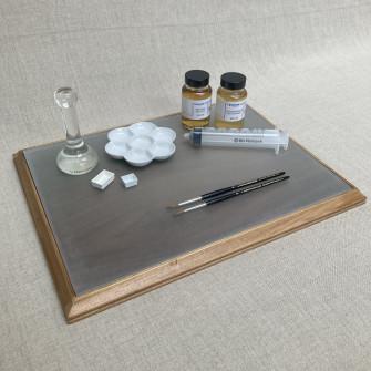 Watercolour paint making set