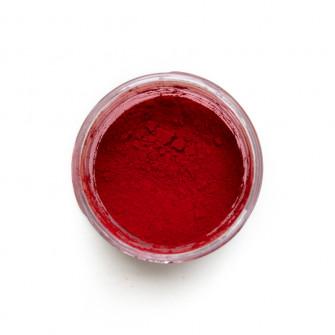 Quinacridone Scarlet pigment in a 15ml jar.