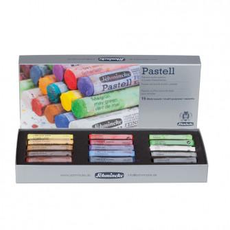 Schmincke Pastels Cardboard Set of 15 Assorted