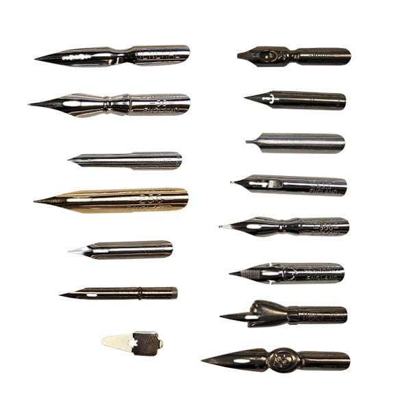 Leonardt nibs dip pens nibs and holders drawing Drawing with calligraphy pens
