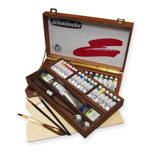 Portable Exhibition Quotes : Schmincke mussini artists oil sets colours oils
