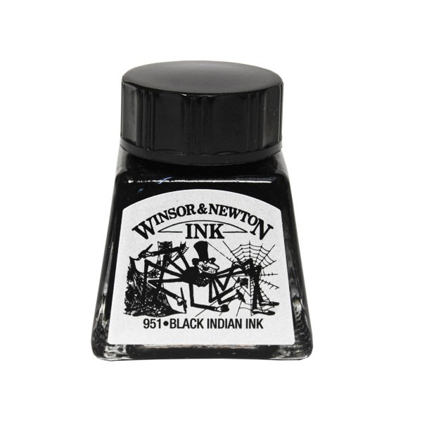Winsor & Newton Indian Inks - Drawing Inks - Drawing ...