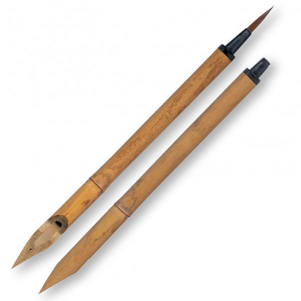 Bamboo Pen With Brush Dip Pens Nibs And Holders