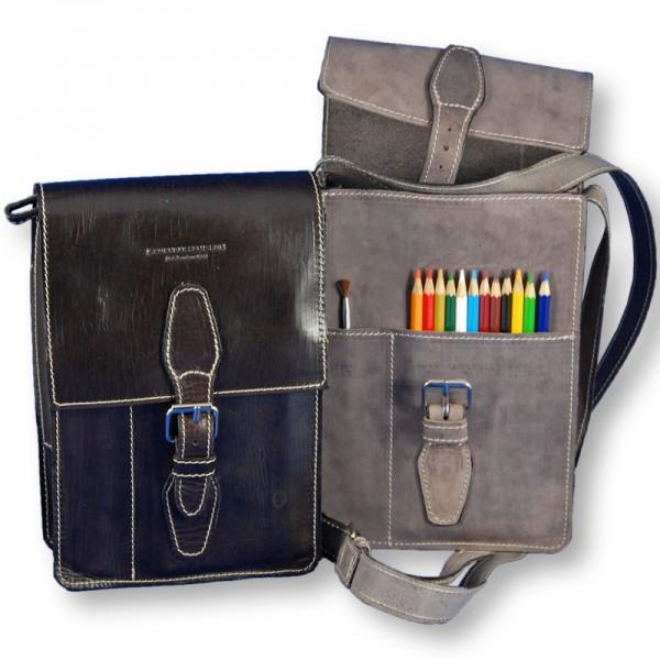 Leather Artists Sketch Bag