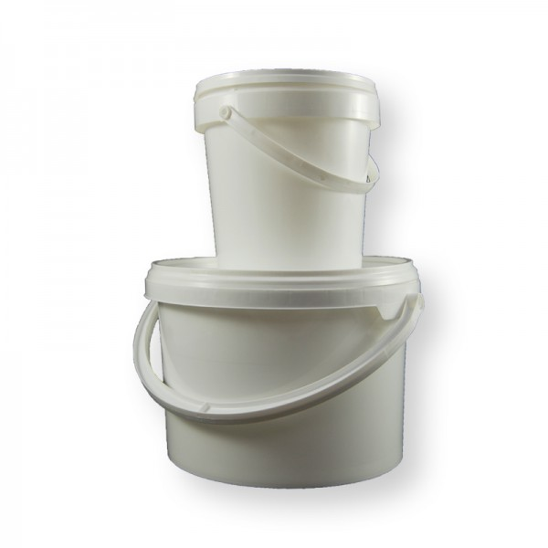 plastic paint tubs storage containers pigments gums