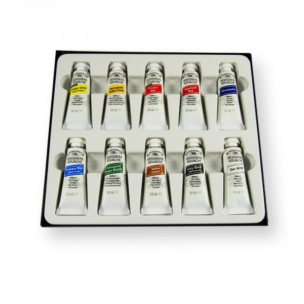 Winsor Newton Designers Gouache Introductory Paint Set
