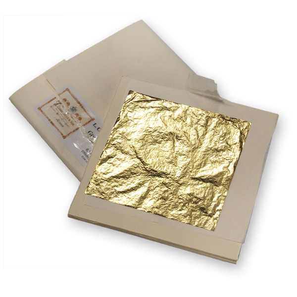 Cornelissen Gold Foil Leaf 24 carat 0 5g-Single