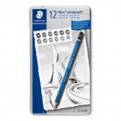 STAEDTLER Mars Lumograph Pencil 12 Set
