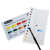 Horadam Watercolour 12 Colours Dot Card