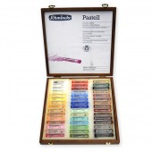 Schmincke Wooden Boxed Set of 45 pastels