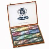 Schmincke Wooden Boxed Set of 100 pastels