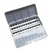 Empty Watercolour box for 36 half pans