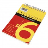 Daler Red and Yellow Spiral Bound