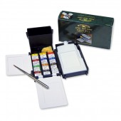 Winsor & Newton Artists Field Box 12 Half Pans