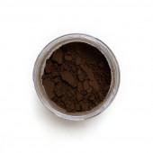 Burnt Umber pigment in a 15ml jar.