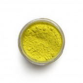 Cadmium Yellow Lemon pigment in a 15ml jar.