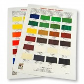 "Roberson ""Charles"" Oil Colour Chart"