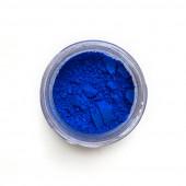 Cobalt Blue pigment in a 15ml jar.