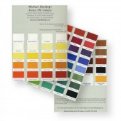 Michael Harding Artists' Oil Colour Chart