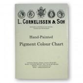 Cornelissen Pigment Colour Chart