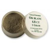 Cornelissen Gold Powder 1 g Blanc