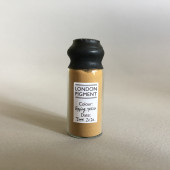Epping Forest Yellow Ochre in a 20 ml glass vial, sealed with wax.