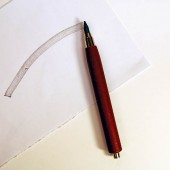 Mahogany Clutch Pencil Long