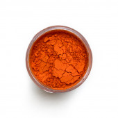 Lead Red pigment in a 15ml jar.