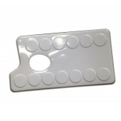 Small Metal Rectangular Palette