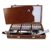 Schmincke Mussini Large Wooden Box Set