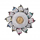 Schmincke Horadam J.H. Watercolor Wheel Set of 12 Half Pans