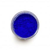 Ultramarine Blue Dark pigment in a 15ml jar.