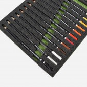 24 Watercolour Pencil Set