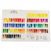 W&N Professional Watercolour Chart